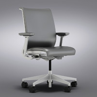 Crate and Barrel - Steelcase Think Leather Office Chair