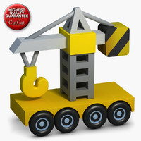 construction icons 07 crane 3d fbx