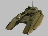 lightwave v rhino hover tank