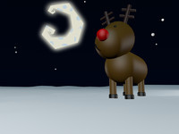 cartoon raindeer 3ds free