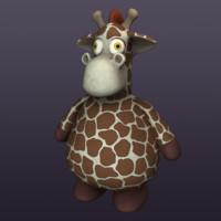 maya giraffe plush