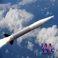 3ds max israeli silver sparrow missile