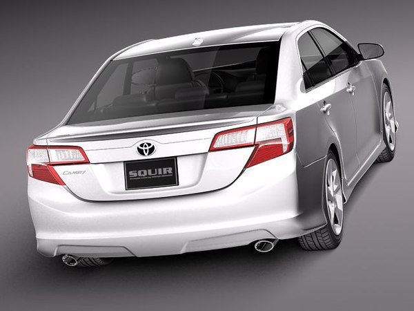 3ds max toyota camry usa 2012. Black Bedroom Furniture Sets. Home Design Ideas