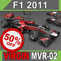 F1 2011 Marussia Virgin MVR-02