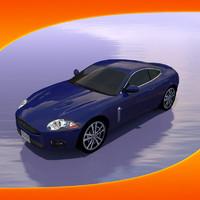 3d xkr car