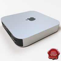 3d apple mac mini v2 model