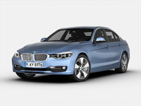 3ds max bmw 3 series car