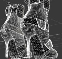 maya female heel boots