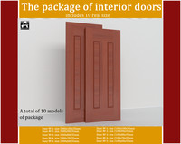 package interior doors 3d ma
