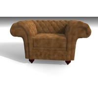 cinema4d grosvenor 1 seater velvet