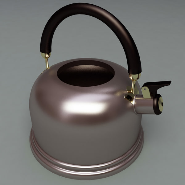 3d model set kettle tea - Kettles and Tea Collection... by 3d_molier