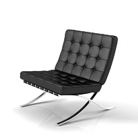 Knoll Barcelona Tufted Chair