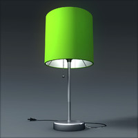 table lamp 3d obj