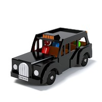 London Taxi Toy Car