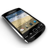 3d rim blackberry curve 9380 model