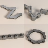 bike chains 3d model