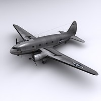 3ds c-46 commando transport china