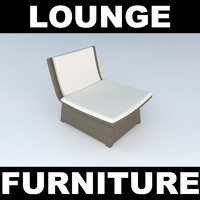 3d model woven furniture