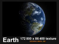 3ds max earth mapped