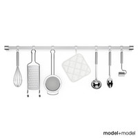 3d kitchen tools rail