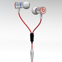 3d monster ibeats headphones model
