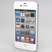 iphone 4s apple 3d model