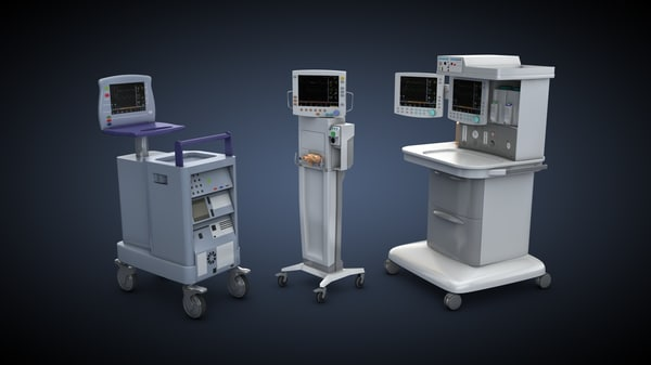 medical equipment 3d model - Medical equipment... by makbeton