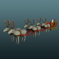 """Santa""""s sled"""