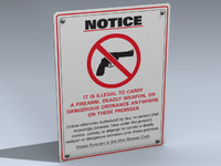 Sign (No Guns Ohio)
