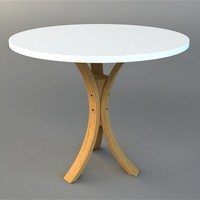 3d table visualization model
