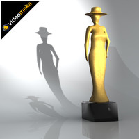 sculpture mesh smoothable 3d model