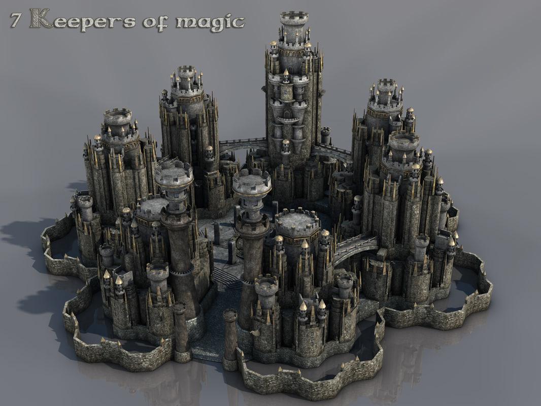 magic castle fantasy world - photo #20