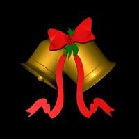 christmas bells c4d