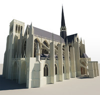 gothic church 3ds