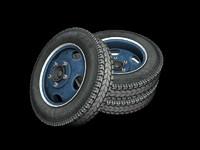 """1940""""s Era Truck Wheel"""