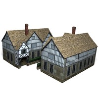 3ds max german house