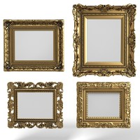 Baroque  Picture Frames Set