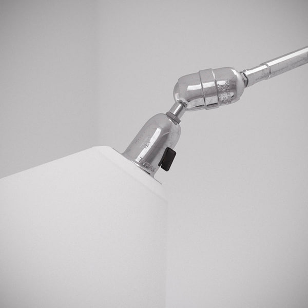 3d model of johan triplex wall lamp - Vintage Triplex Lamp... by danieljhatton