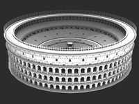 Roman Ancient Colosseum Reconstruction (3D Model)