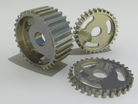 free gears 3d model