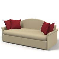 Halley Medison  extended single sofa bed modern traditional contemporary