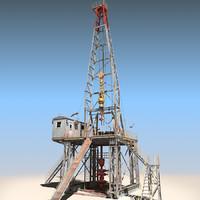3d model land rig