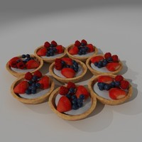 Mixed Berry Pastry Pie