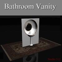custom vanity obj
