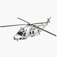 nhindustries helicopter dutch navy 3d 3ds