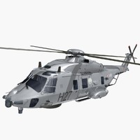 nhindustries helicopter italian navy 3ds