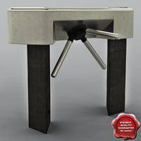 3d turnstile v3