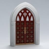 door arch 3d model