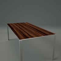 table ready real-time 3d max