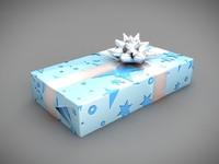 christmas present 3d max